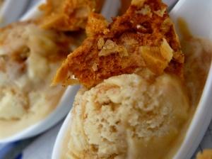 Sweet, creamy, crunchy