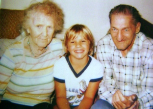 Grandma Ruth, Me and Grandpa
