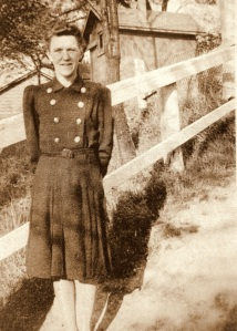 Grandma Ruth in the 1940's