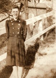 Grandma Ruth in the 1940's