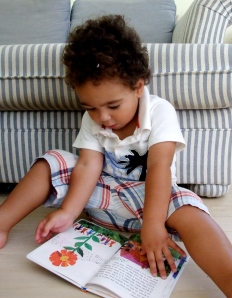 He loves Eric Carle illustrations