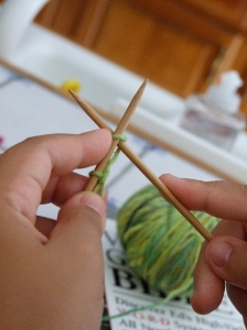 Cross the needles