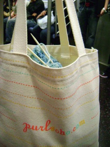 A bag for all our goodies