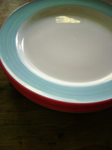 Pretty plates from fishes eddy in FlorrieMarie colours