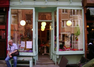 The pretty shop front of Purl Soho