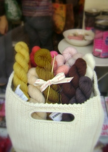 Marie is seriously lusting after the 1st prize in the Purl Soho raffle,