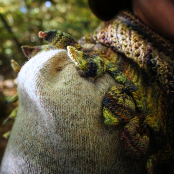 Leaf Kerchief