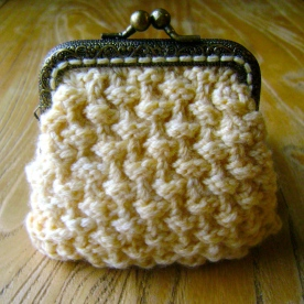 Teeny Coin Purse Bramble Stitch