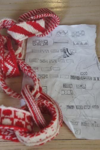 Dounle knit chain