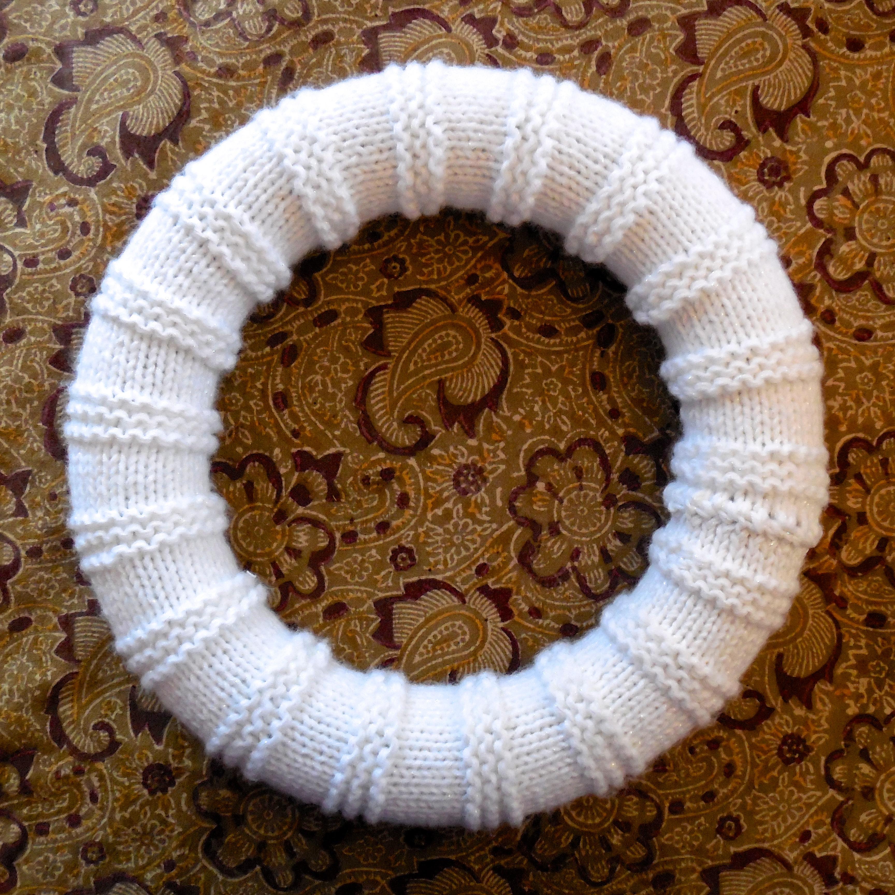 Free Pattern Snowball Wreath Florriemarie