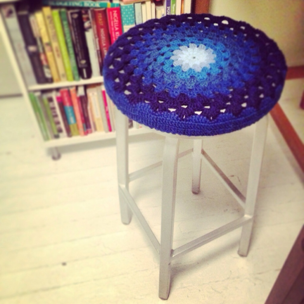 Free Pattern: Crochet Bar Stool Covers (3/3)