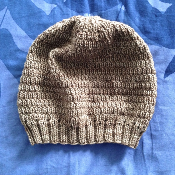 morel, hat, knitting, knit, free, pattern, wheat, stitch, texture, slouchy, hat