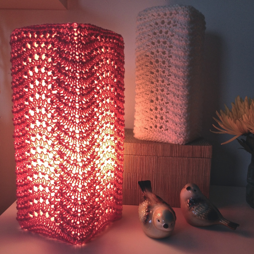 Free Pattern: Knit Lamp Shades (2/4)