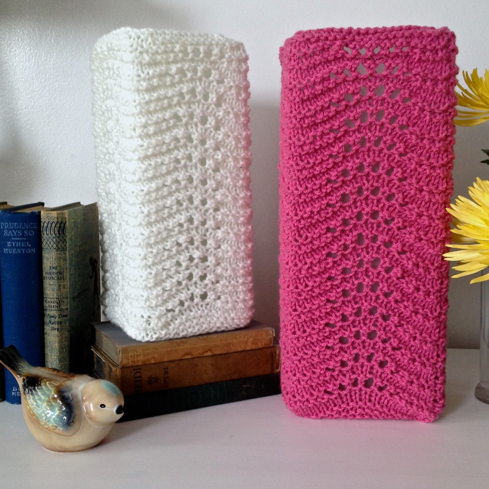 Free Pattern: Knit Lamp Shades (1/4)